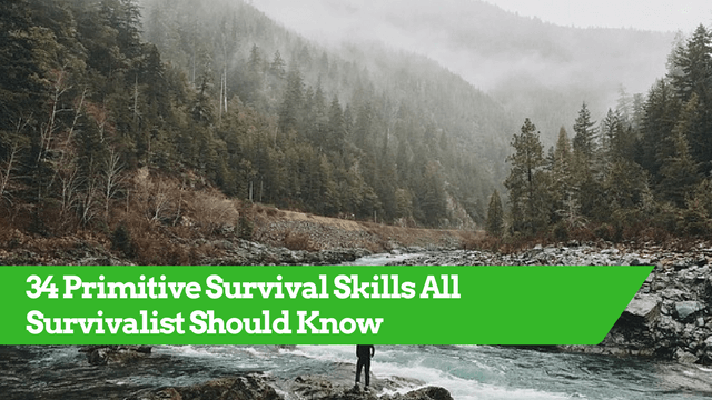 Primitive Survival Skills, Wilderness Skills, Survival Tips and Tricks