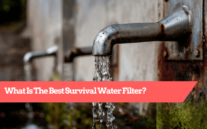 survival water filter, best survival water filter
